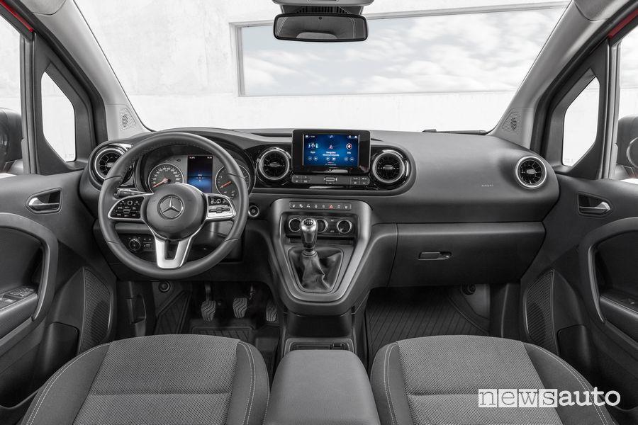 Plancia strumenti abitacolo nuovo Mercedes-Benz Citan Tourer