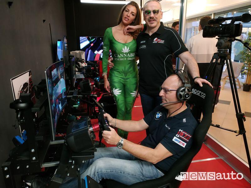 Nicola Trivilino, titolare Driving Simulation Center e DrivingItalia.NET