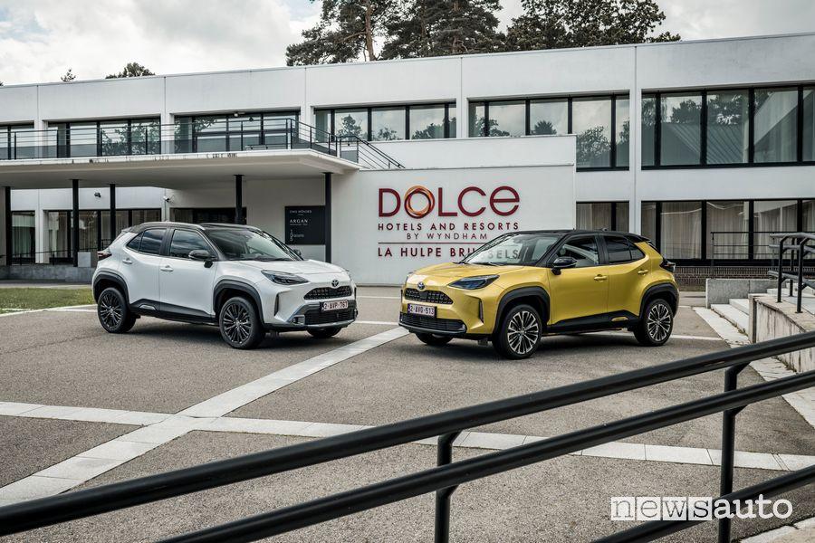 Nuova Toyota Yaris Cross Adventure ed Premiere