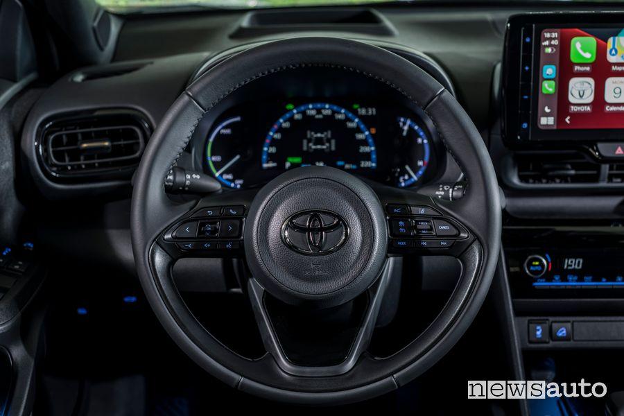 Volante abitacolo nuova Toyota Yaris Cross Adventure