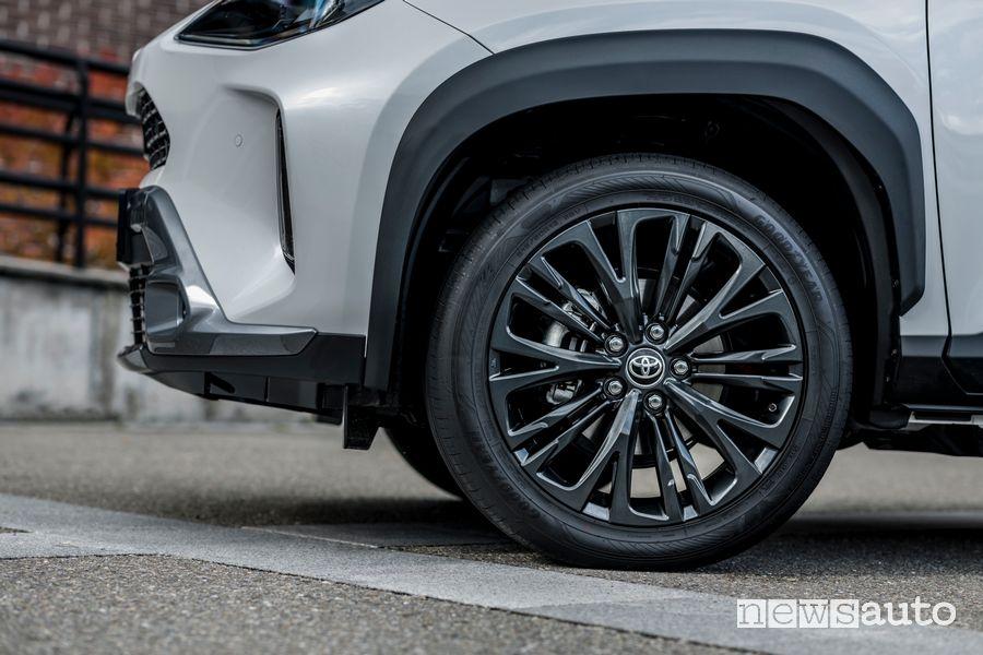 Cerchi in lega nuova Toyota Yaris Cross Adventure