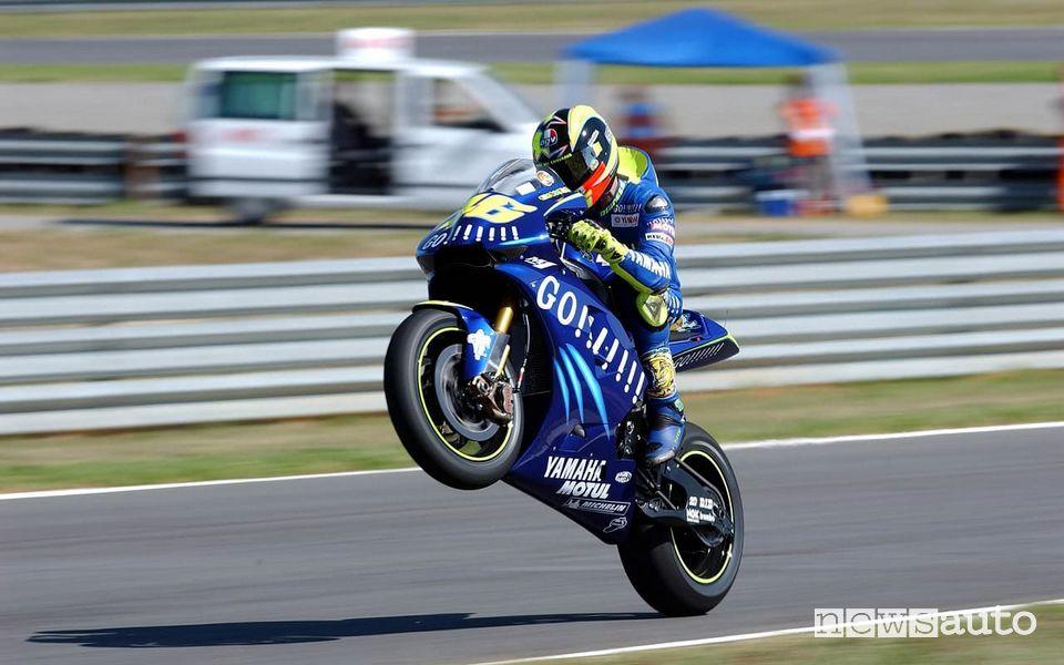 Valentino Rossi le vittorie in MotoGp