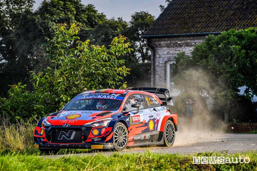 Rally di Ypres 2021 classifica vittoria Hyundai Thierry Neuville