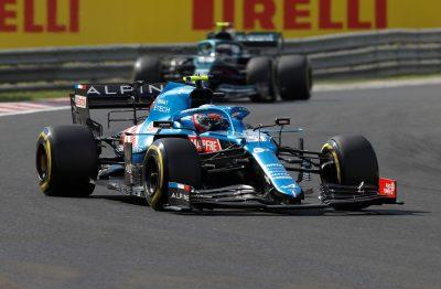 F1 Gp Ungheria 2021, risultati e classifiche gara vinta dall'Alpine