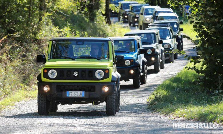 Raduno Suzuki 4x4 2021, programma decima edizione