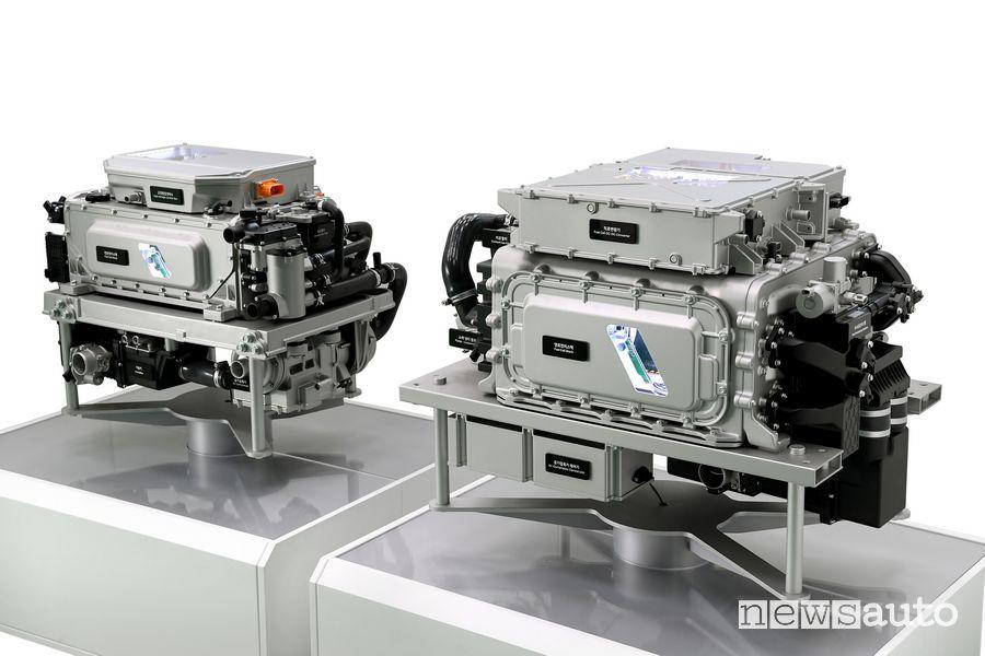 Auto idrogeno Hyundai Fuel cell di terza generazione