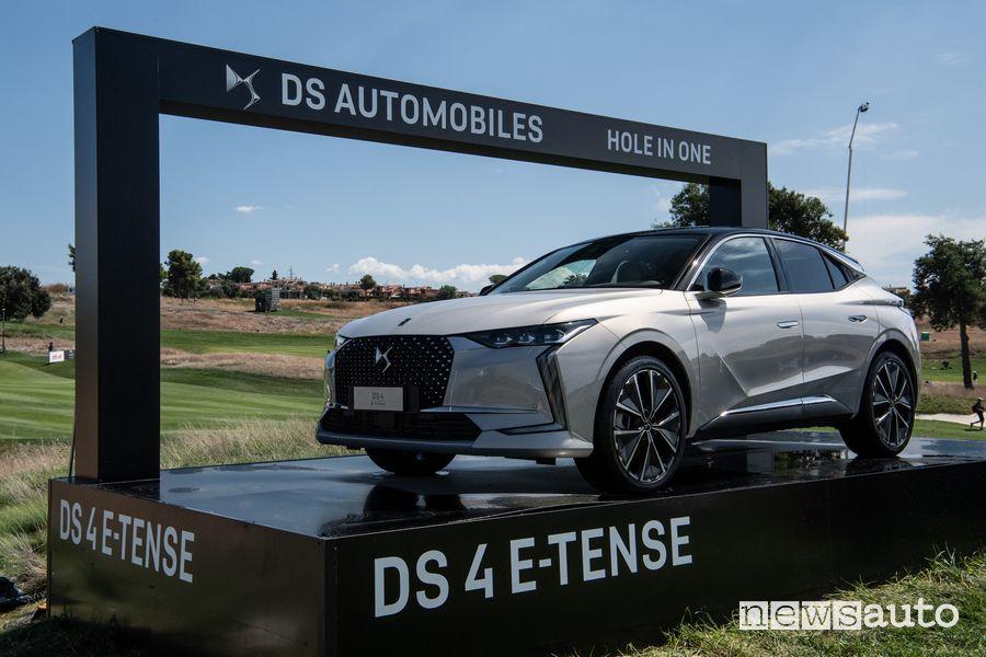 DS 4 E-Tense in mostra al 78° Open d'Italia