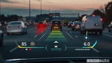 Head up display, realtà aumentata in auto con Huawei
