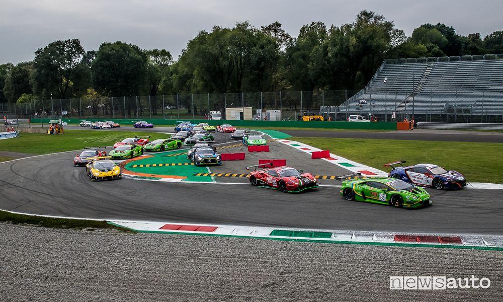 Partenza Gara 1 International GT Open Monza 2021