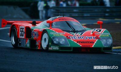 Mazda 787B Le Mans 1991, storica vittoria del motore rotativo