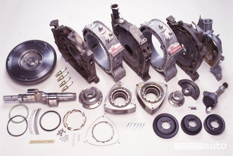 Motore rotativo Wankel Mazda 787B