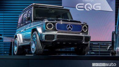 Mercedes EQG, concept che anticipa il Classe G elettrico