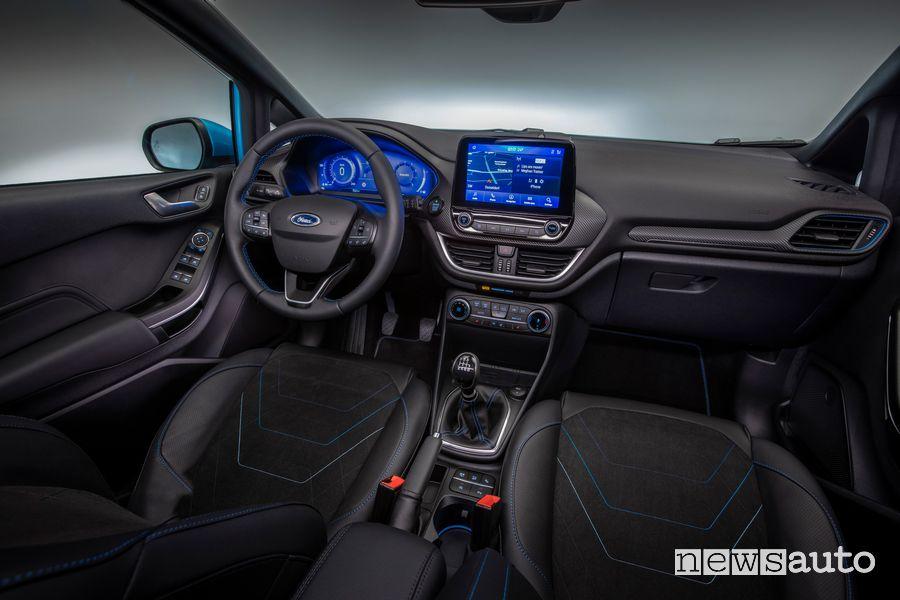 Plancia strumenti abitacolo nuova Ford Fiesta Active
