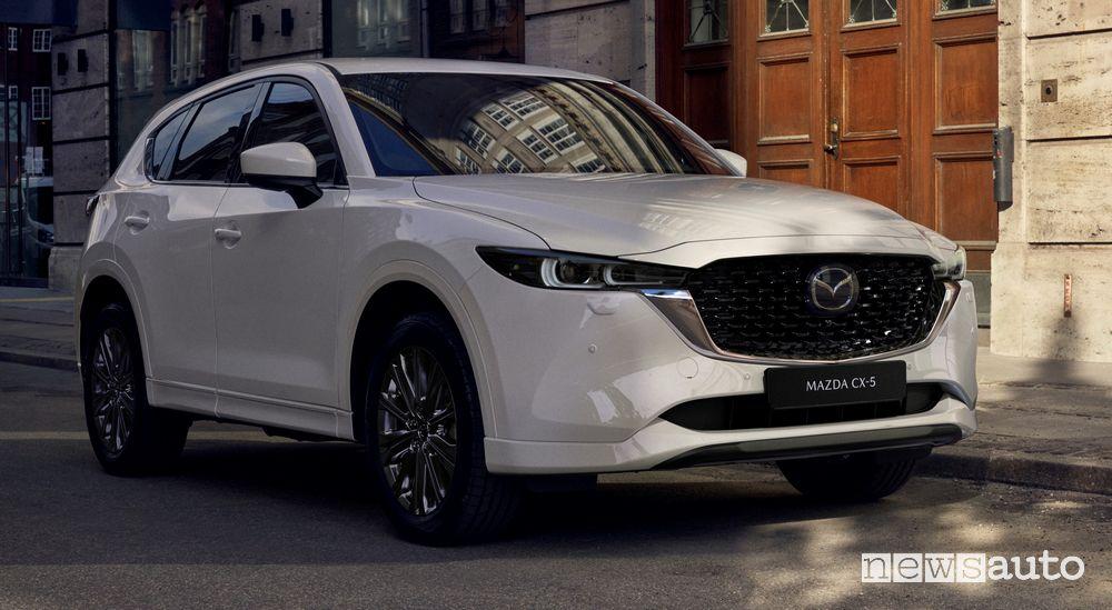 Nuova Mazda CX-5 2022 Snowflake White Pearl Mica