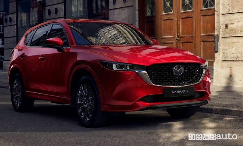 Nuova Mazda CX-5 2022 Soul Red Crystal