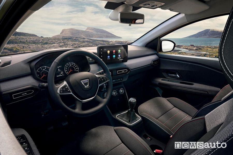 Volante abitacolo nuovo Dacia Jogger Extreme