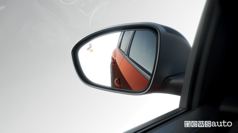 Sensore angolo morto specchietto retrovisore nuovo Dacia Jogger