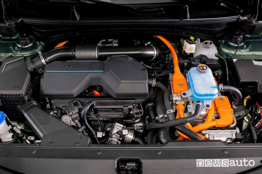 Vano motore nuovo Kia Sportage full hybrid