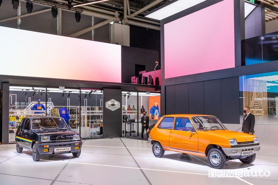 Renault 5 storica nello stand Renault al Salone di Monaco IAA 2021