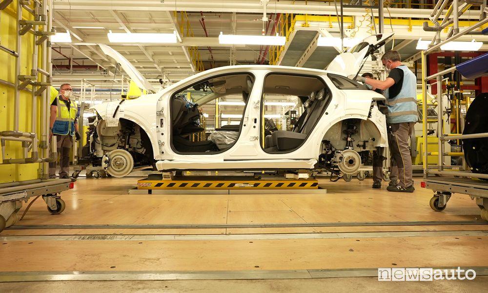 Assemblaggio Renault Mégane E-Tech Electric a Douai