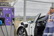 Colonnine Enel X da Leroy Merlin, ricarica rapida per auto elettriche