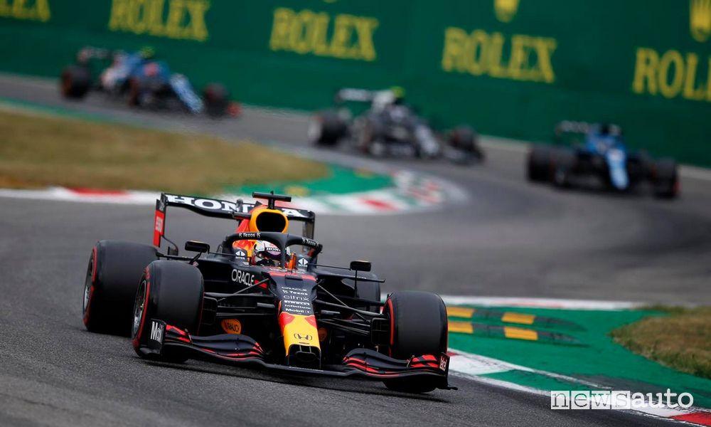 F1 2021 Gp Italia Monza 2021 Red Bull Max Verstappen