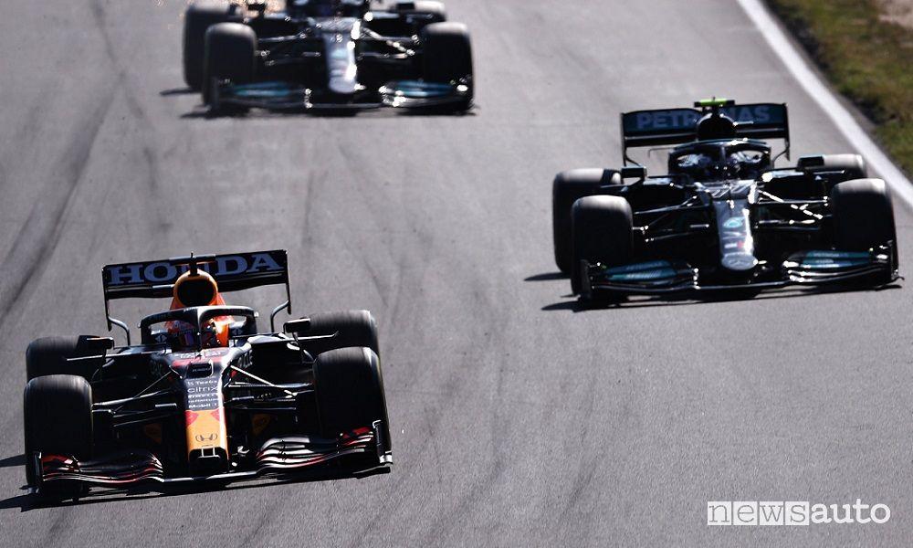 F1 Gp Olanda 2021 classifica finale