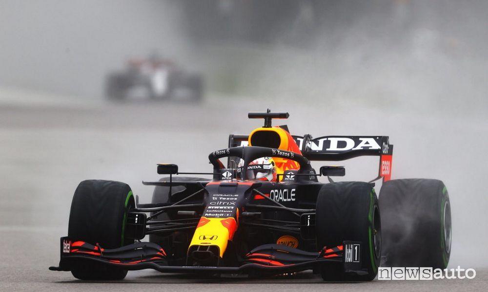 Max Verstappen Red Bull qualifiche griglia di partenza Gp di Russia F1