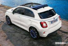Fiat 500X cabrio Dolcevita, caratteristiche e prezzi