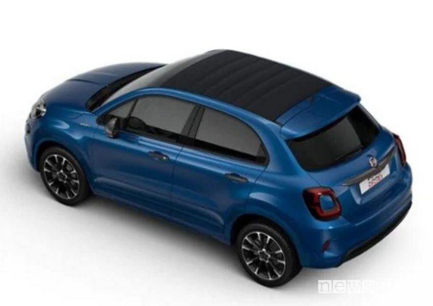 Fiat 500X Dolcevita nella versione Sport