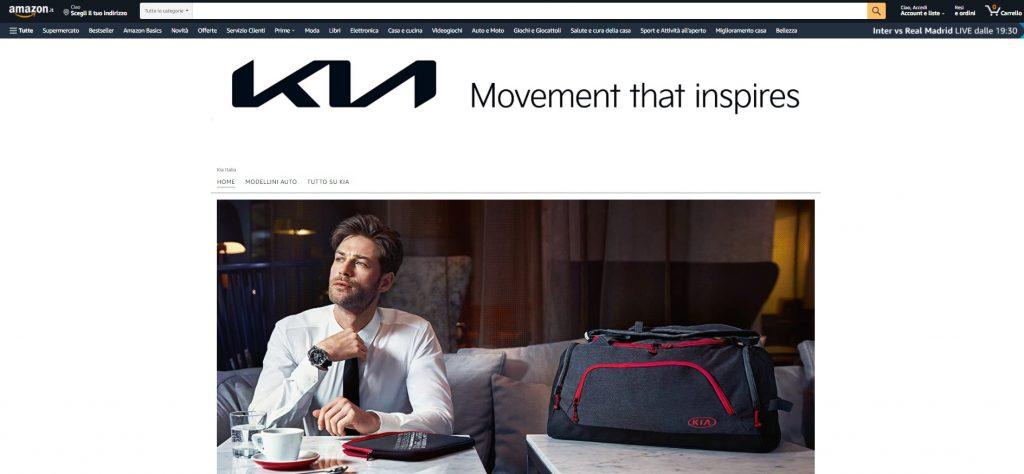 Negozio online accessori, ricambi e merchandise Kia su Amazon