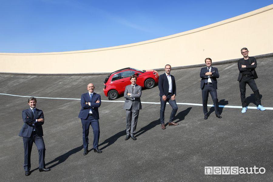 Fiat & Abarth Manager: S. Cesini, G. Thorel, O. Francois, G. Clerc Produc, L. Diot