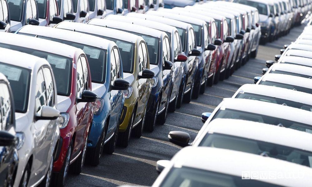 Auto vendute in Europa luglio ed agosto 2021 mercato auto