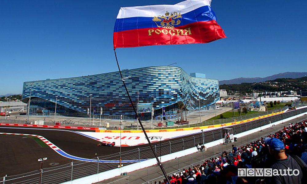 Orari Gp Russia F1 2021 diretta SKY e differita TV