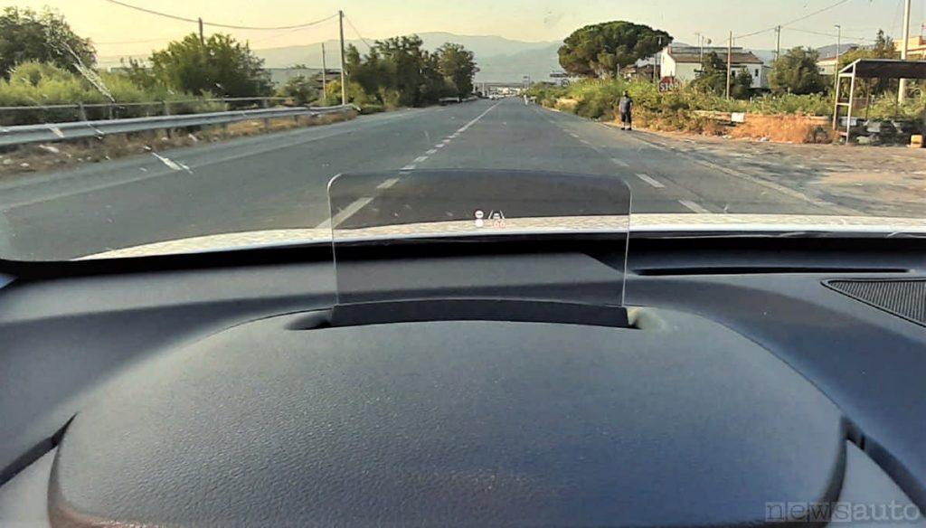 strada statale SS106 Jonica all'altezza di Corigliano Calabro