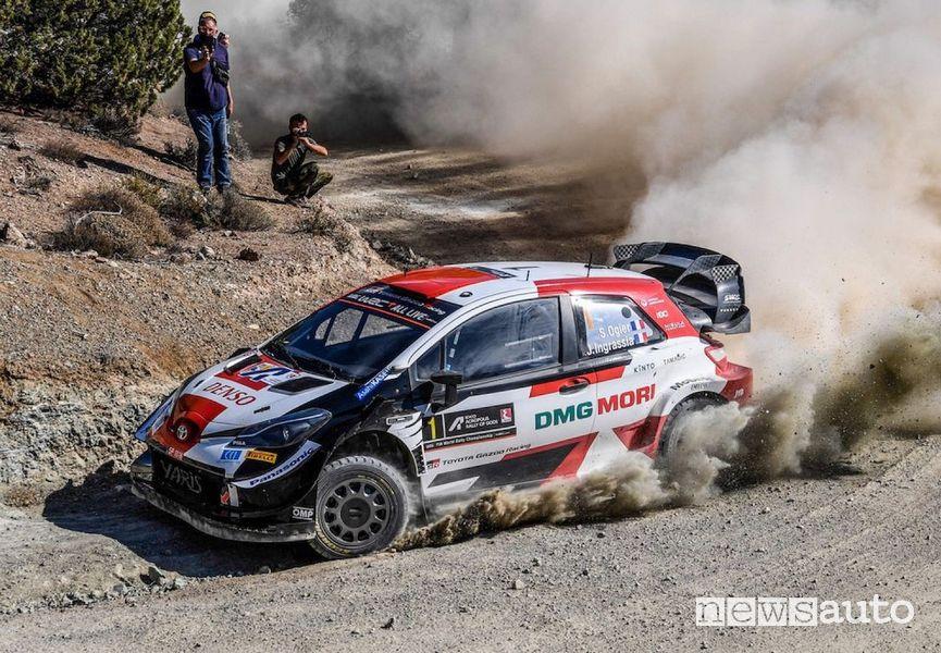 Toyota Yaris Sebastien Ogier terzo Rally dell'Acropoli 2021 WRC