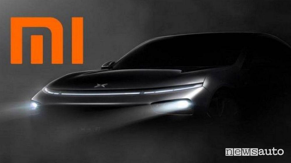 Xiaomi auto elettriche e-car a guida autonoma