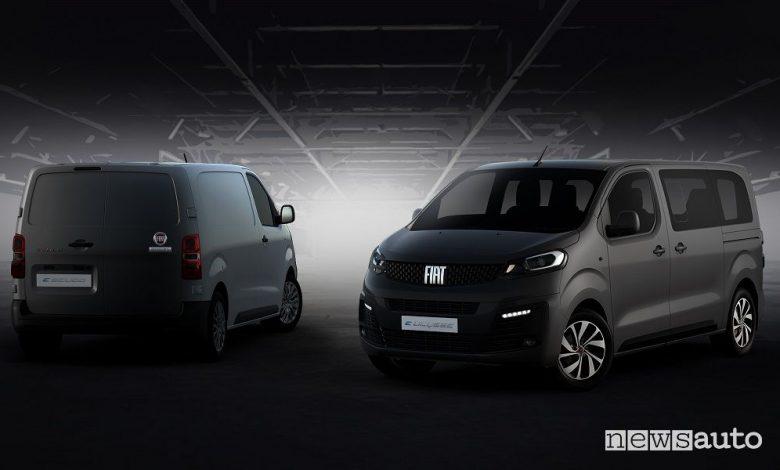 Fiat Ulysse e Scudo, nuove generazioni anche elettriche