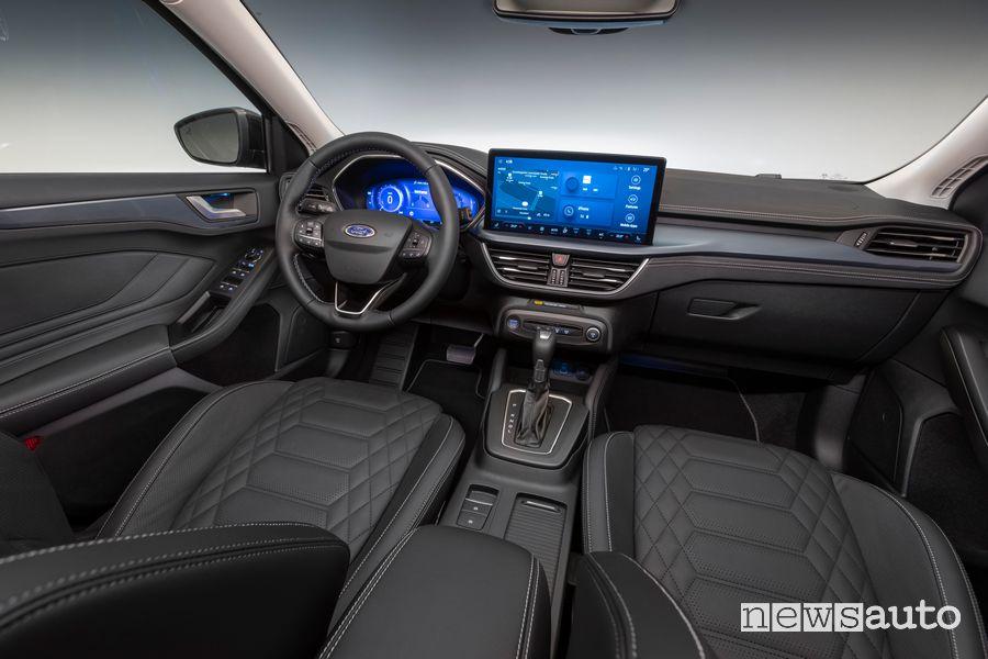 Plancia strumenti abitacolo nuova Ford Focus Active