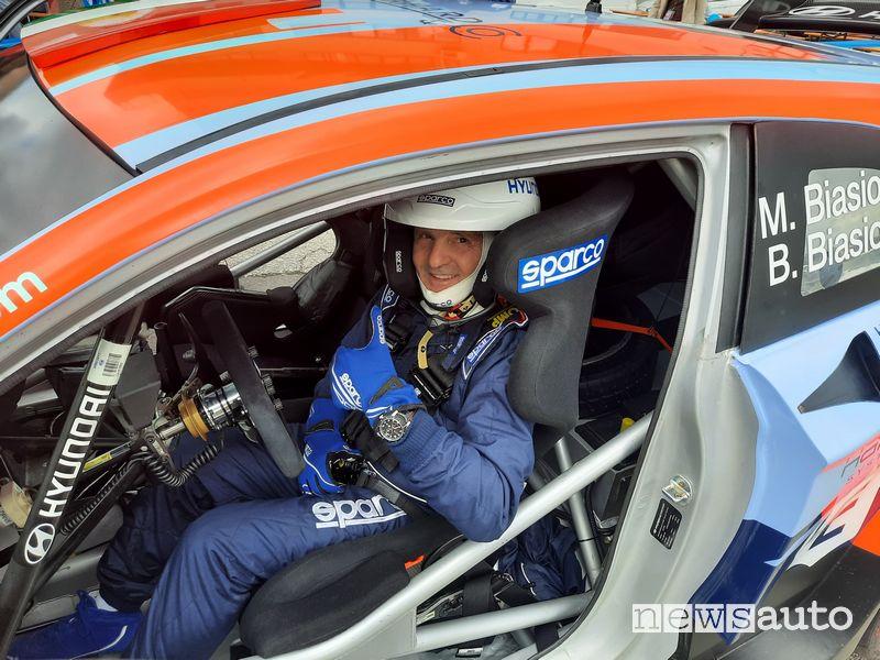 Rallylegend 2021 Miki Biasion sulla Hyundai i20 WRC Plus