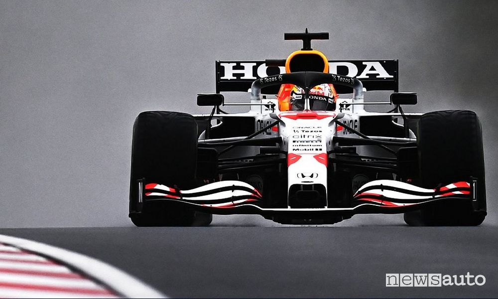 Red Bull Honda Max Verstappen Gp Turchia F1 2021