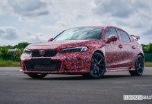 Nuova Honda Civic Type R, come sarà l'ultima benzina VTEC