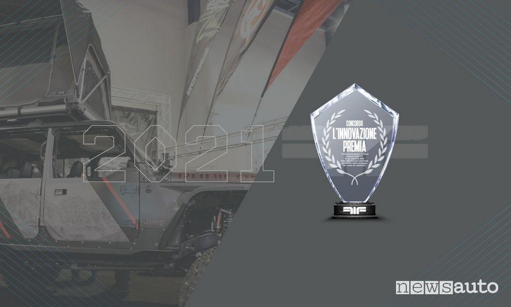 """Fiera Internazionale Fuoristrada premio FIF """"L'innovazione premia"""""""