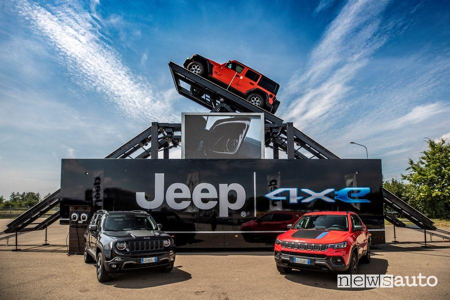 Truck Jeep alla Fiera Internazionale Fuoristrada